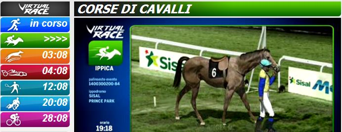 virtual race sisal cavalli