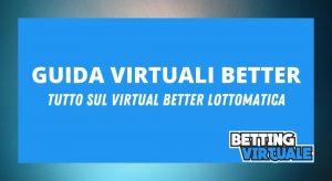 Foto Virtuali Better Lottomatica